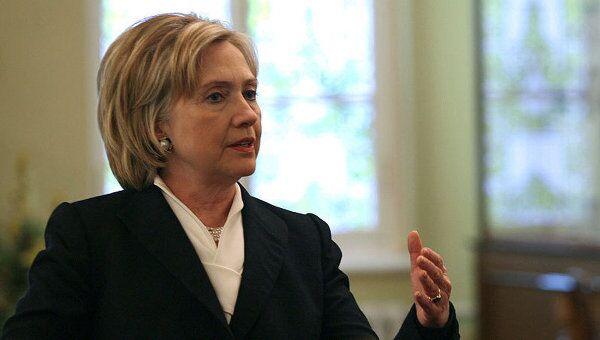 Государственный секретарь США Хиллари Клинтон. Архив.