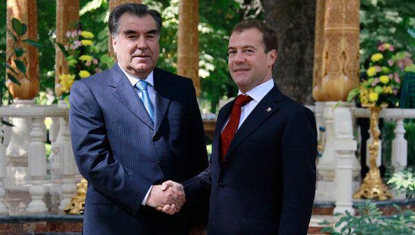 Четырехсторонняя встреча президентов России, Таджикистана, Пакистана, Афганистана в Душанбе