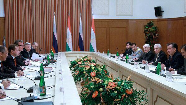 Российско-таджикские переговоры