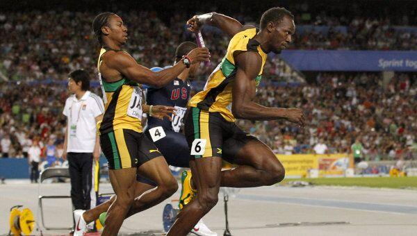 Бегуны сборной Ямайки
