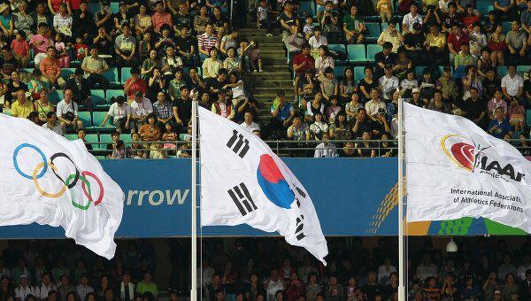 Флаг Международной ассоциации легкоатлетических федераций (IAAF)