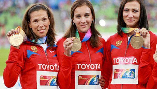 Лучший результат за 20 лет показали россияне на ЧМ по легкой атлетике