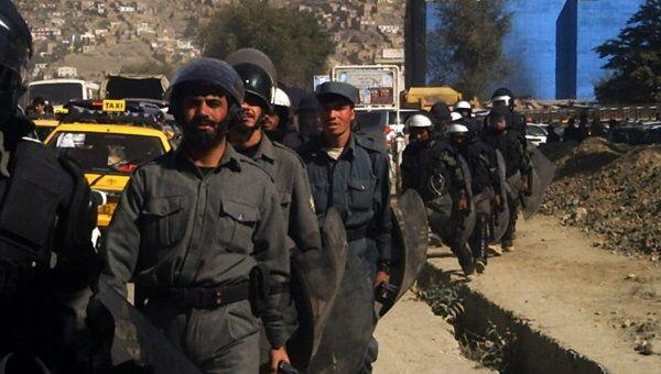 Подразделения быстрого реагирования полиции Кабула. Архив