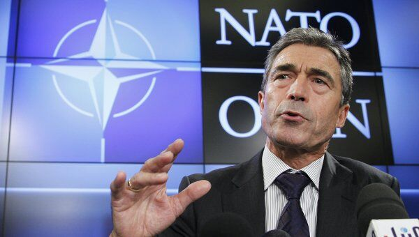 Генсек НАТО Андерс Фог Расмуссен. Архив