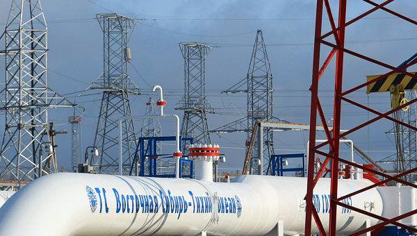 Нефтепроводная система Восточная Сибирь — Тихий океан, архивное фото