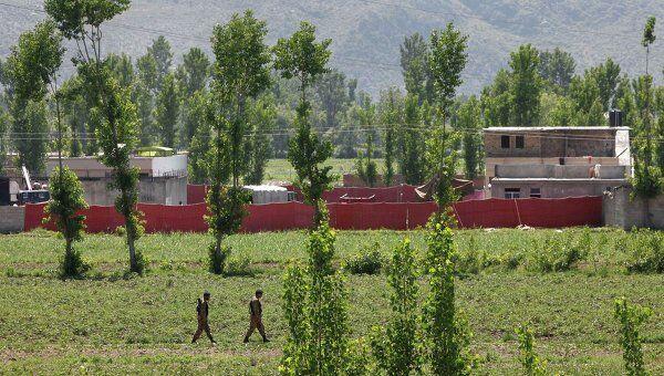 Место, где произошел бой в Пакистане