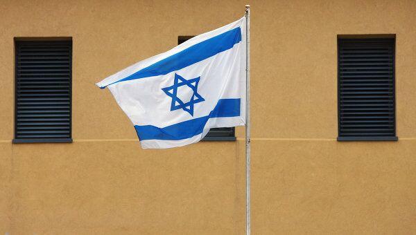 Флаг Израиля. Архив