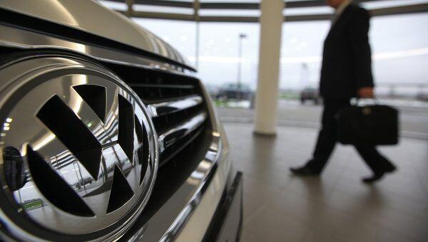 Завод Volkswagen в Калуге. Архивное фото.