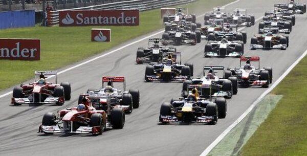 Старт Гран-при Италии