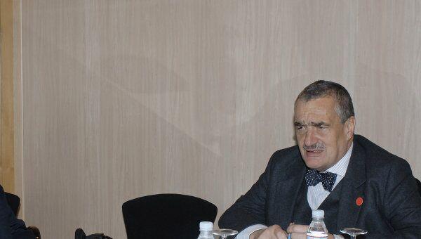 Министр иностранных дел Чехии Карел Шварценберг. Архив