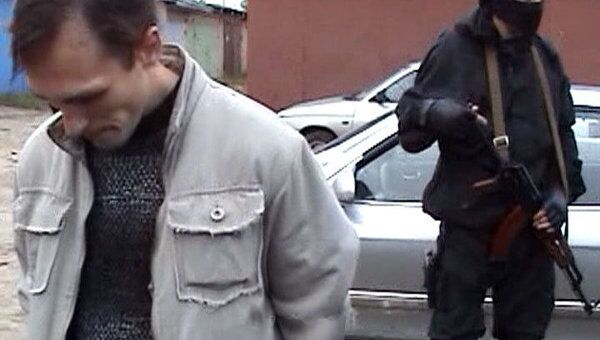 Задержание лиц, подозреваемых в совершении вооруженного нападения