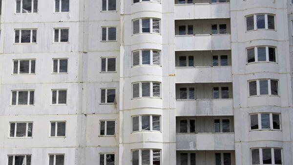 Панельный дом в Москве. Архив