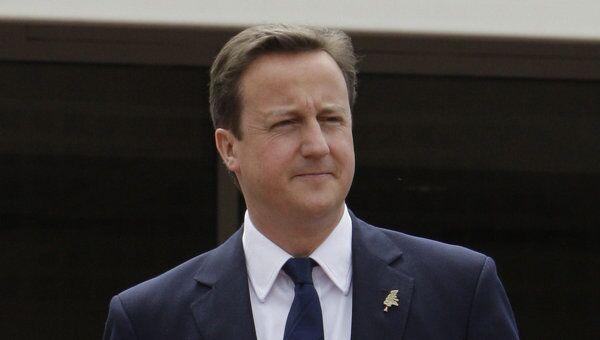 Премьер-министр Великобритании Дэвид Кэмерон. Архив