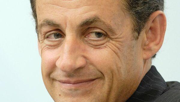 Президент Франции Николя Саркози. Архив.