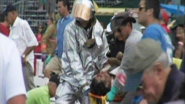 В Неваде самолет упал на трибуну во время авиашоу