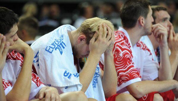 Баскетболисты сбоной России