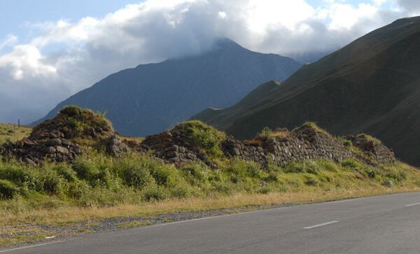 Военно-грузинская дорога. Архивное фото