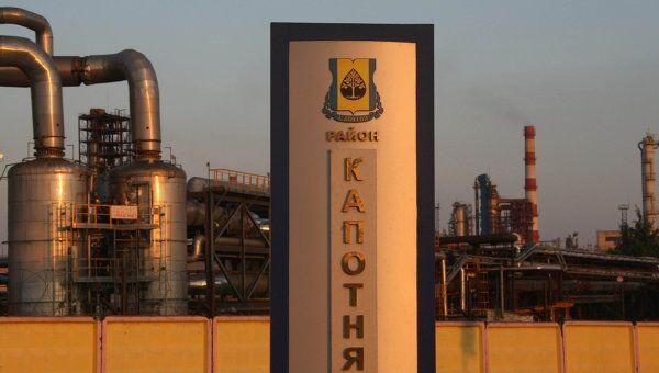 Московский нефтеперерабатывающий завод. Архивное фото