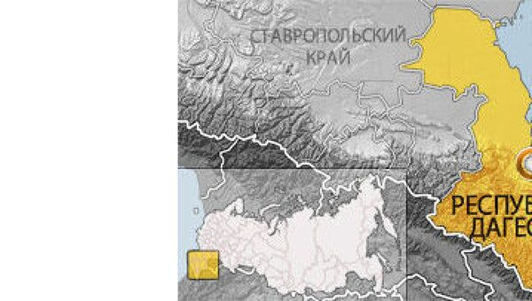 Дагестан. Карта