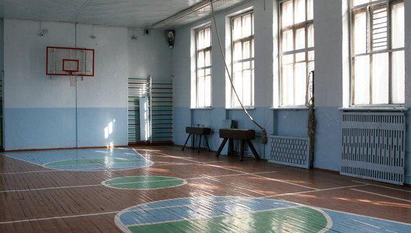 Школа № 1 в городе Шелехов Иркутской области, где ученики избили учителя физкультуры