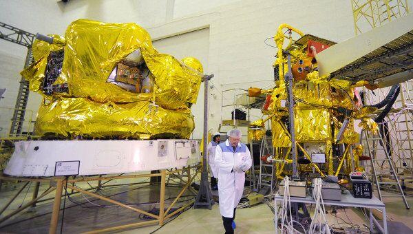 Автоматическая межпланетная станция (АМС) Фобос-Грунт. Архив