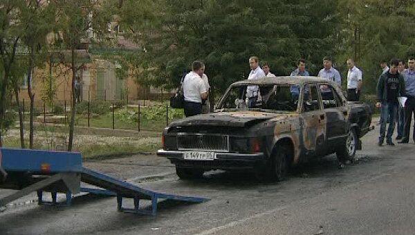 В Махачкале убит замглавы УФСИН Дагестана