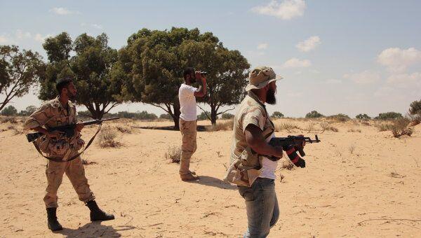 Повстанцы в Ливии