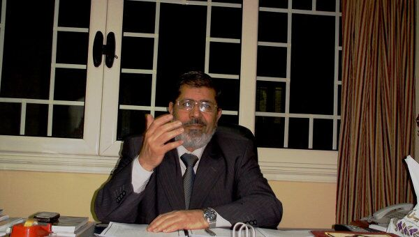 Избранный президент Египта Мухаммед Мурси