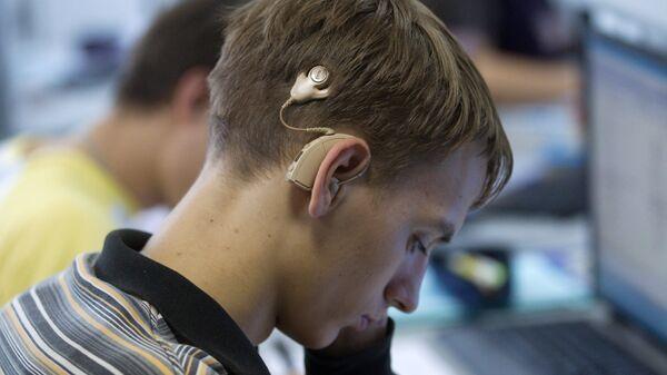 Обучение слабослышающих. Архив