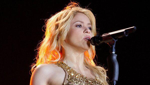 Певица Шакира. Архив