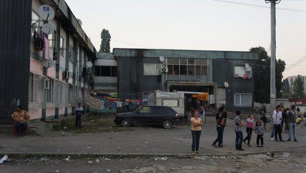 В цыганском гетто Софии - квартале Факультет. Архив