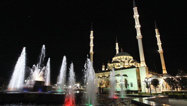 Город Грозный, мечеть имени Ахмата Кадырова