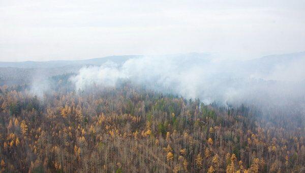 Тушение лесных пожаров. Архив