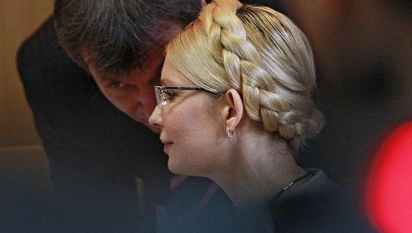 Оглашение приговора Юлии Тимошенко. Архив