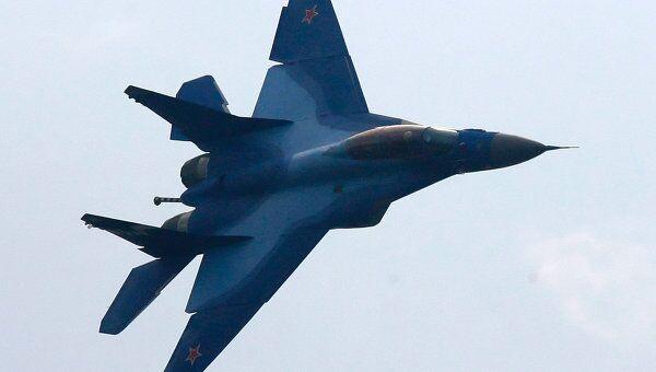 Полет палубного истребителя МиГ-29К