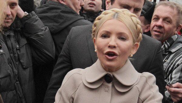 Тимошенко прибыла на допрос в Генеральную прокуратуру Украины