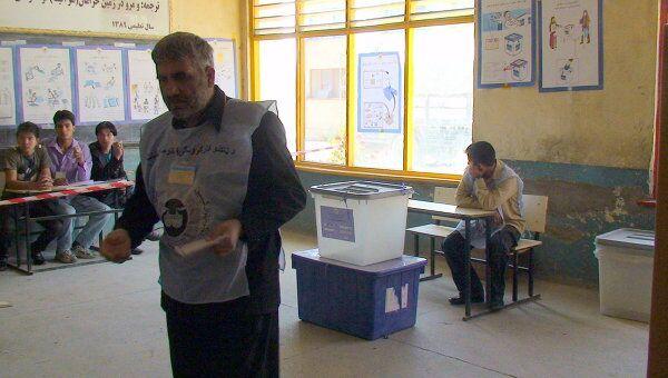 Парламентские выборы в Афганистане. Архив
