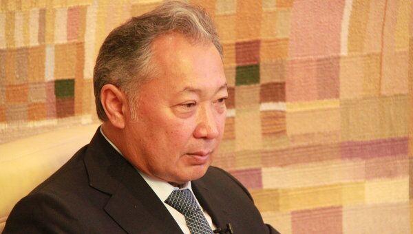 Курманбек Бакиев, бывший президент Киргизии. Архивное фото