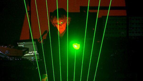 Жан-Мишель Жарр устроил москвичам светопредставление. Фрагменты шоу