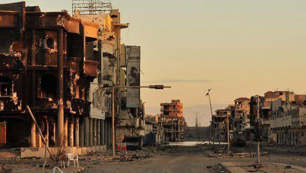 Обстановка в ливийском городе Сирт
