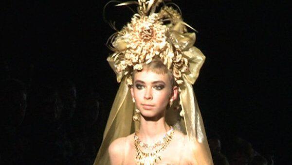 Льняная коллекция Зайцева открыла неделю моды в Москве