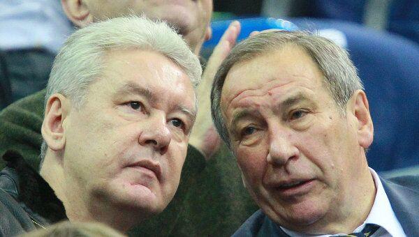 Сергей Собянин и Шамиль Тарпищев