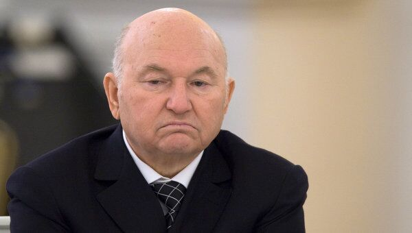 Мэр Москвы Юрий Лужков. Архив