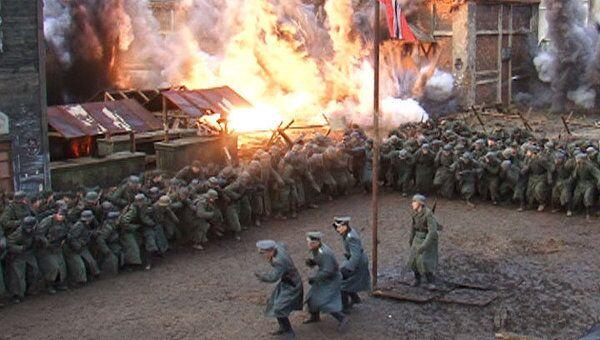 Артиллерийская атака с одного дубля. Съемки фильма по роману Гроссмана