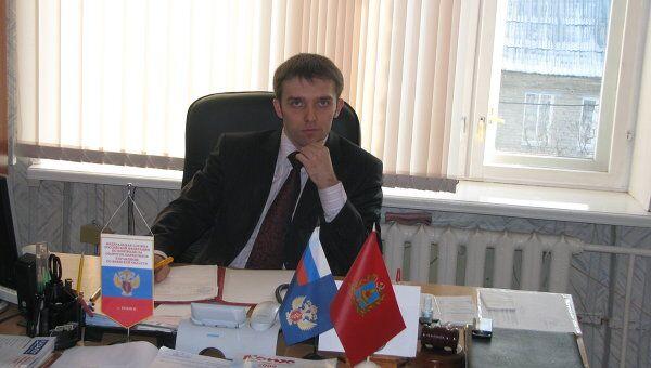 Помощник губернатора, руководитель аппарата областной антинаркотической комиссии Максим Диордиев