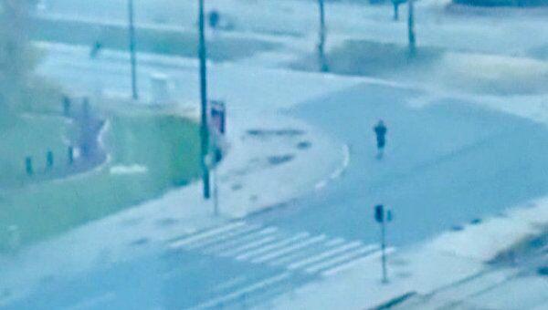 Обстрел посольства США в Сараево. Любительское видео