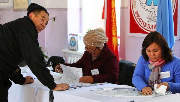 Выборы президента Киргизии. Архив