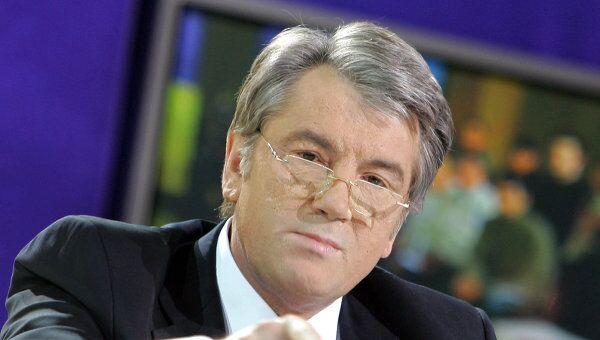 Ющенко уверен, что виновники его отравления находятся в России