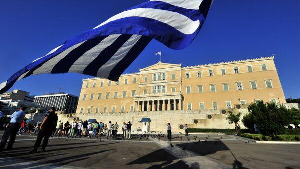 Правительство Греции Архивное фото