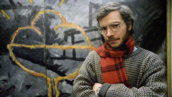 Художник Андрей Ройтер, один из участников московского сквота 80-х годов Детский сад